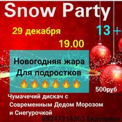 Snow party