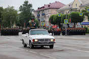 Военный парад прошел на центральной площади Уссурийска
