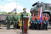 «Поезд Победы»: передвижной музейный комплекс встретили в Уссурийске