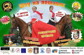 Шоу на лошадях