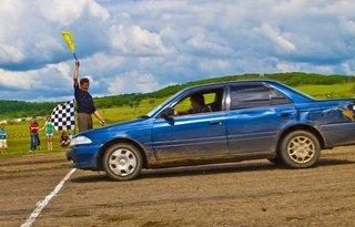 Первенство УГО по автомобильному слалому. Фотоотчёт