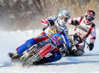 Открытый Чемпионат по мотогонкам на льду