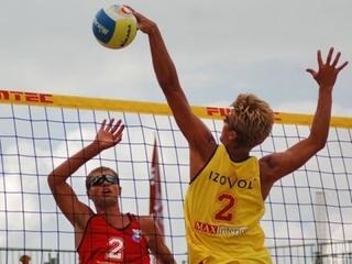 Блицтурнир по пляжному волейболу
