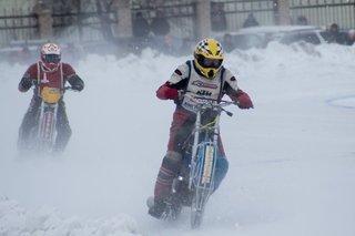 1 этап Первенства ДВ по мотогонкам на льду прошёл в Уссурийске