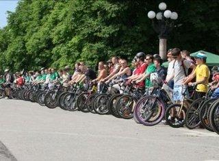 Велопробег, посвящённый Дню России