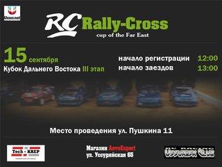 III этап соревнований в классе Rally-Cross моделей масштаба 1/10