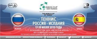 Теннис. Россия - Испания