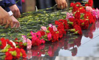 Церемония возложения цветов