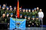 Церемония посвящения в юнармейцы состоялась в Уссурийске