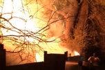 Пожар в Уссурийске могла устроить группа подростков