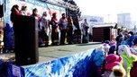 В Уссурийске закрытие ледового городка отпраздновали развлекательной детской программой