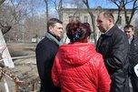 Глава администрации УГО Евгений Корж провел выездную встречу по обращениям граждан из п. Тимирязевский
