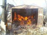 В Уссурийске сгорел гараж