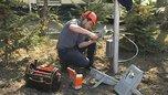 Начались работы по восстановлению освещения мемориала на площади Победы в Уссурийске