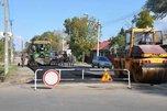 На улице Волочаевской в Уссурийске кладут асфальт