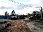 В Уссурийске на улице Дарвина ведутся дорожные работы