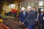 Врио Губернатора Приморья Андрей Тарасенко посетил 322-ой авиационный ремонтный завод в Уссурийске