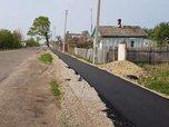 Строительство нового тротуара ведется в районе Доброполья