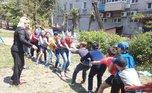 Детские праздники прошли во дворах Уссурийска