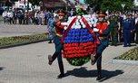 В День памяти и скорби уссурийцы возложили венки и цветы к Вечному огню