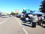 Рыбные и мясные продукты появились на ярмарке выходного дня в Уссурийске