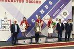 Золотую медаль выиграла уссурийская самбистка на Первенстве России