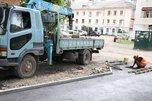 В Уссурийске продолжаются работы по ремонту ливневых систем