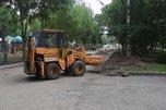 В Уссурийске ремонт улицы Фрунзе в самом разгаре