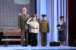 Торжественное собрание, посвященное Дню защитника Отечества, состоялось сегодня в Доме офицеров Уссурийска