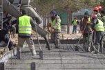 Военные строители завершили фундамент семи медицинских центров