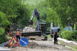 На Хениной сопке идут масштабные работы по водоотведению