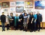 Выставка «Учитель и ученики» художественного отделения Детской школы искусств открылась в Центре народного творчества