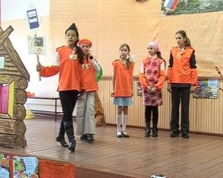 В День памяти жертв ДТП школьники вспоминают правила дорожного движения
