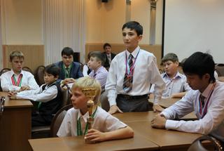 Чествование лучших каратистов федерации Уссурийска состоялось в администрации