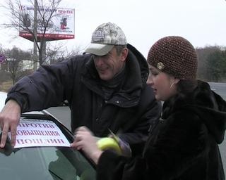 Уссурийские автомобилисты поддержали акцию протеста против повышения пошлин на ввоз иномарок