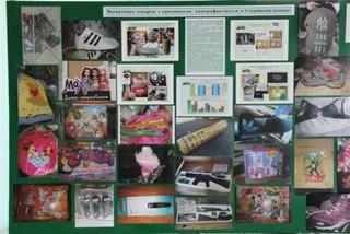 Выставка, посвященная незаконному обороту контрафактной продукции, прошла в Уссурийской таможне