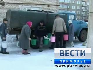В селе Утесное жители воду получают по талонам