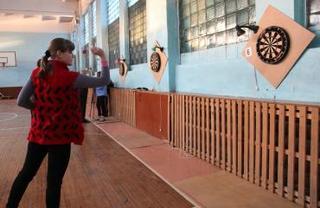 Соревнования по дартсу прошли в Уссурийске