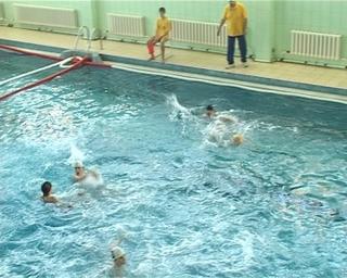 В Уссурийске прошло открытое первенство по водному поло