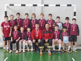 Краевой турнир по мини-футболу среди юношей прошёл в Уссурийске