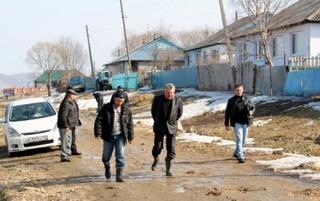 Жители села Раковка страдают не из-за стихийного бедствия