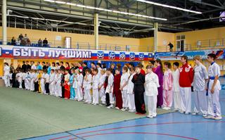 Спортсмены из Уссурийска стали лучшими в кубке Артема по традиционному ушу и тайцзицюань