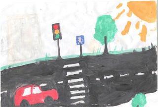 Выставка конкурсных работ «Светофор – 2013» прошла в «Центр детского творчества»