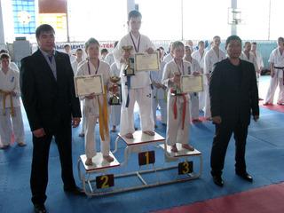 150 участников выступили на турнире по киокушинкай каратэ-до в Уссурийске