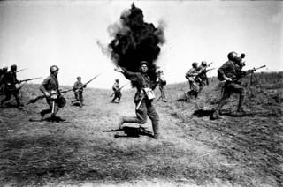 Историческую реконструкцию фрагмента Сталинградской битвы провели в Уссурийске