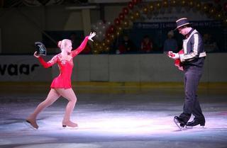 Уссурийский конкурс танцевальных пар на льду