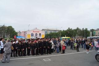 Уссурийцы отметили День России
