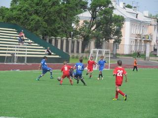 Уссурийские футболисты встретились с хабаровским клубом
