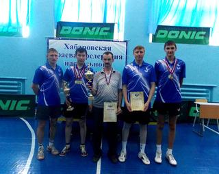 Кубок Хабаровского края по настольному теннису уехал в Уссурийск