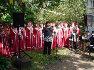 Праздник двора, посвященный 40-летию дома, состоялся на ул. Уссурийская, 71